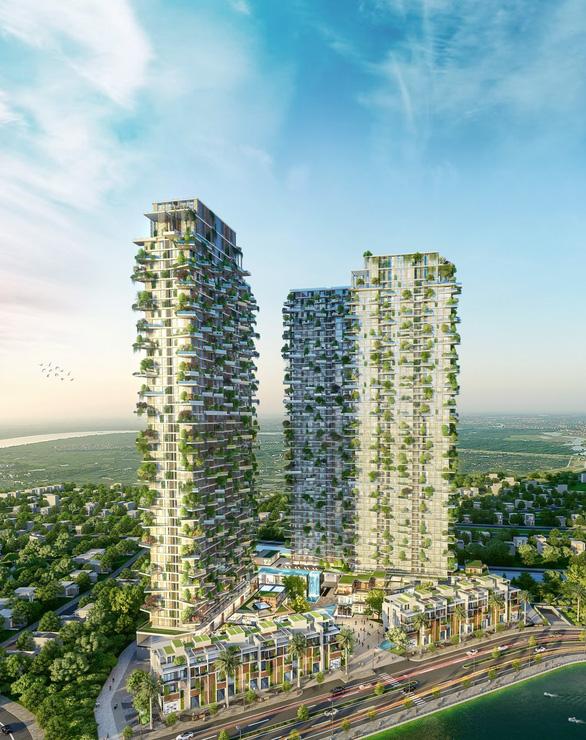 Ecopark xây dựng tháp xanh cao nhất thế giới - Ảnh 3.