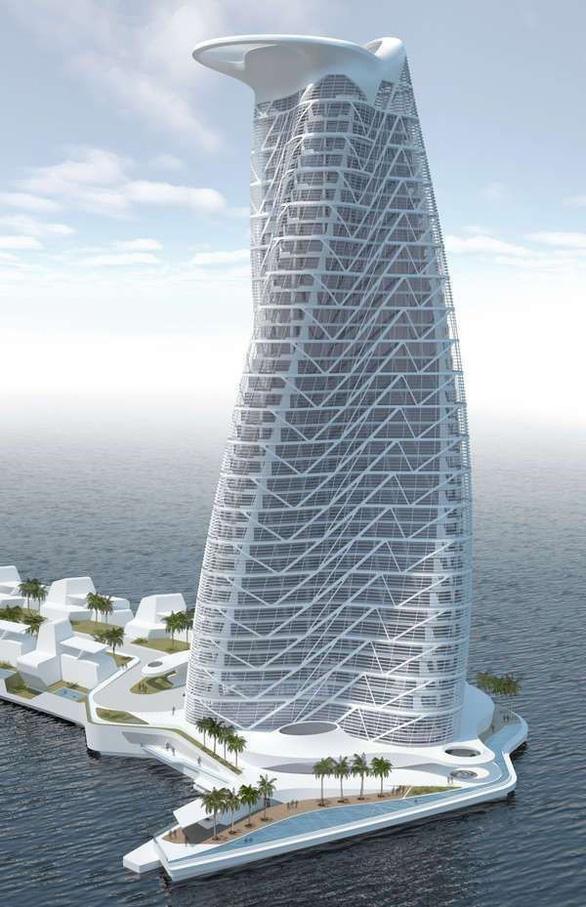Ecopark xây dựng tháp xanh cao nhất thế giới - Ảnh 5.