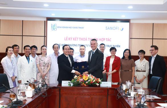 Bệnh viện Đại học Y dược TP.HCM triển khai tư vấn sức khỏe trực tuyến - Ảnh 1.