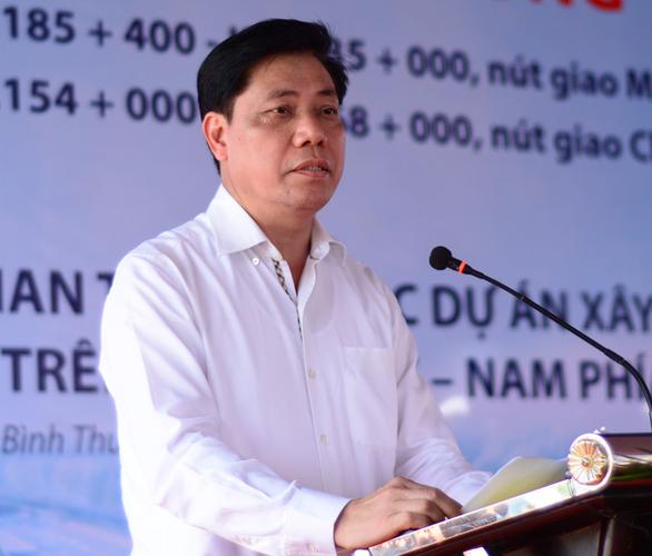 Đồng loạt thi công các gói thầu dự án cao tốc Vĩnh Hảo - Phan Thiết - Ảnh 2.