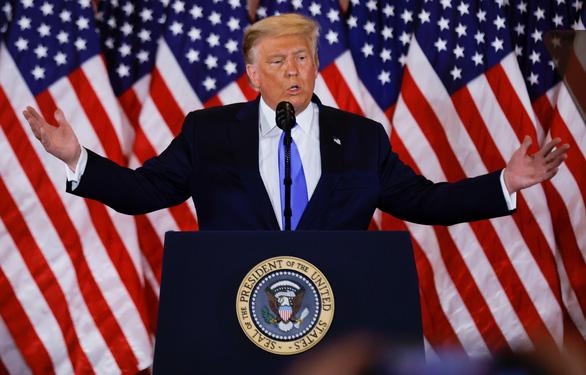 Ông Trump phát biểu từ Nhà Trắng: Chúng ta thắng rồi, thắng đậm - Ảnh 1.