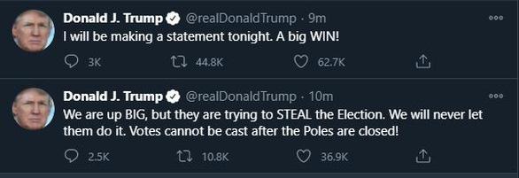 Ông Trump phát biểu từ Nhà Trắng: Chúng ta thắng rồi, thắng đậm - Ảnh 2.