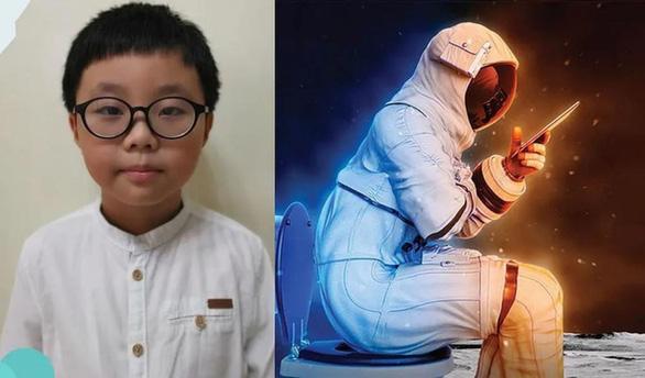 Cậu bé 9 tuổi phát minh thiết bị giúp phi hành gia giải quyết nỗi buồn - Ảnh 1.