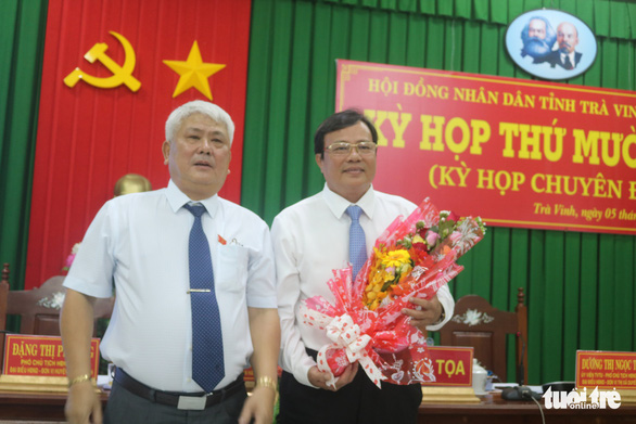 Ông Lê Văn Hẳn giữ chức chủ tịch UBND tỉnh Trà Vinh - Ảnh 1.