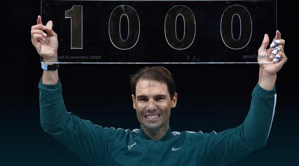Điểm tin thể thao sáng 5-11: Nadal thắng trận thứ 1.000 tại ATP Tour - Ảnh 1.