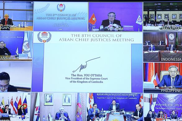 Hội nghị Chánh án ASEAN ra tuyên bố Hà Nội - Ảnh 1.