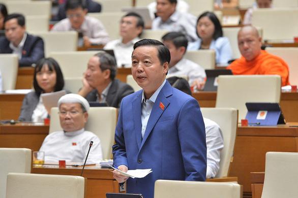 Bộ trưởng Trần Hồng Hà nói không thể không chuyển đổi mục đích sử dụng rừng - Ảnh 1.