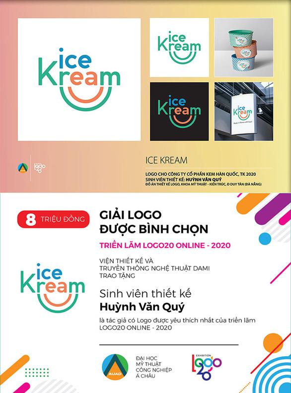 Sinh viên ĐH Duy Tân giành giải thưởng tại triển lãm Logo20 Online - Ảnh 2.