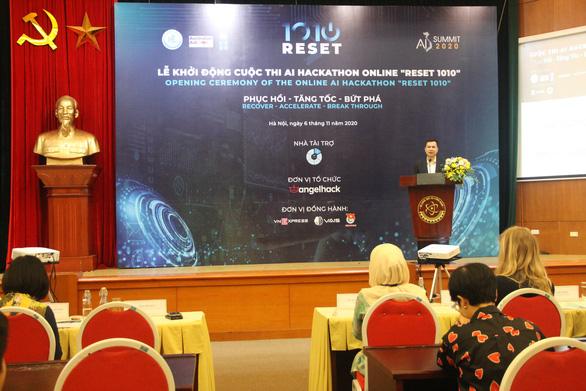 Khởi động cuộc thi Reset 1010 phát triển ứng dụng công nghệ cho doanh nghiệp - Ảnh 1.