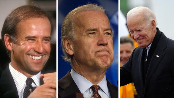 Ông Joe Biden qua năm tháng - Ảnh: BBC