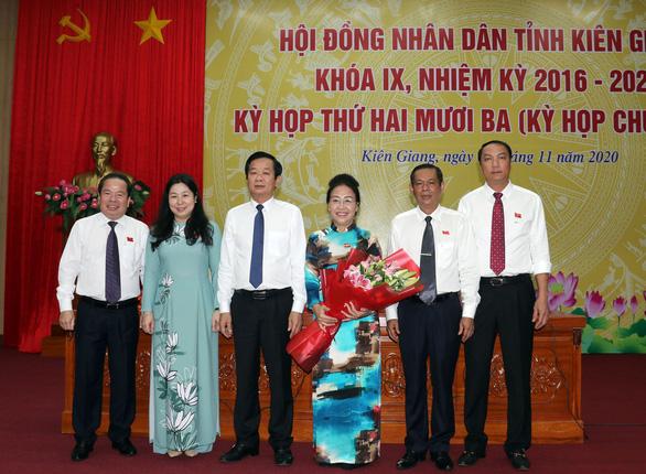 Kiên Giang có tân chủ tịch HĐND và tân chủ tịch UBND tỉnh - Ảnh 1.