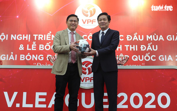 Trước thềm hai đại hội của bóng đá Việt Nam: VPF lặng hơn VFF - Ảnh 1.