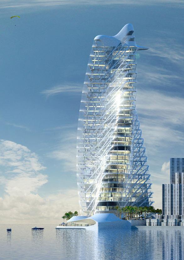 Thiết kế tháp biểu tượng Ecopark - Ảnh 2.