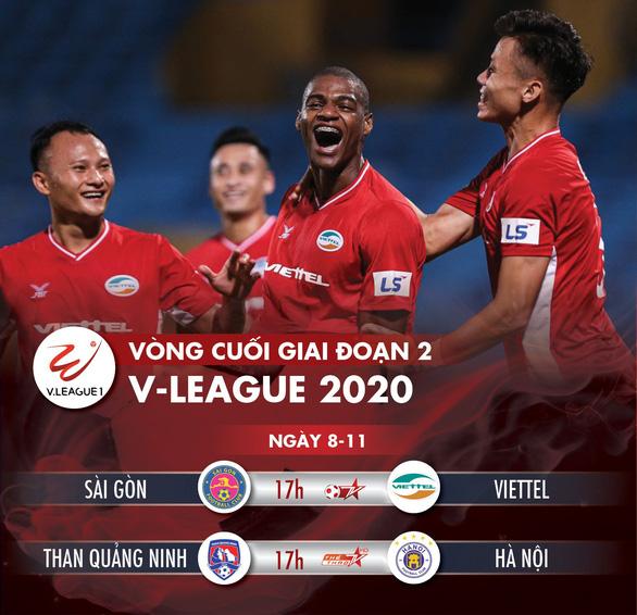 Lịch trực tiếp V-League: Viettel hay Hà Nội sẽ vô địch? - Ảnh 1.