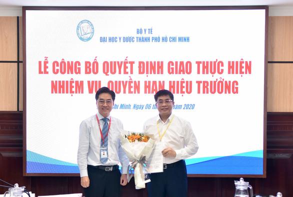 PGS.TS Nguyễn Hoàng Bắc làm quyền hiệu trưởng ĐH Y dược TP.HCM - Ảnh 1.
