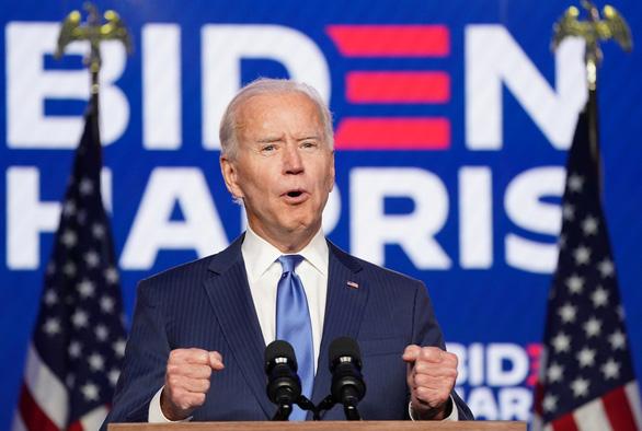 Ông Joe Biden đắc cử tổng thống thứ 46 của nước Mỹ - Ảnh 1.
