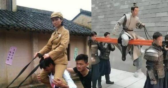 Thế thân trong phim Hoa ngữ: Từ ngựa thế, mông thế, eo thế… đến ăn cơm cũng thế - Ảnh 2.