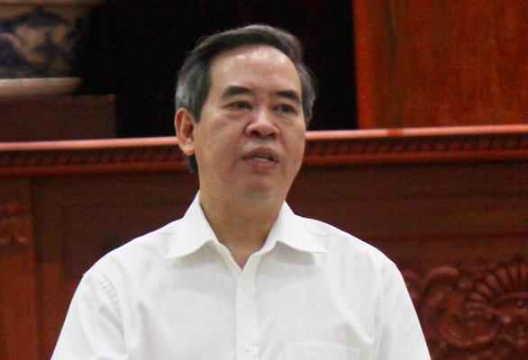 Bộ Chính trị kỷ luật cảnh cáo ông Nguyễn Văn Bình - Ảnh 1.