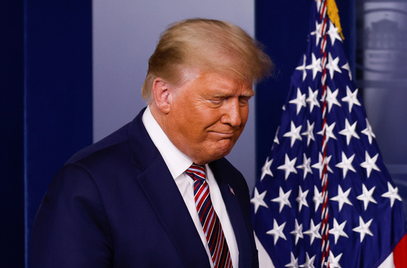 Ông Trump lần nữa tuyên bố thắng đậm - Ảnh 1.