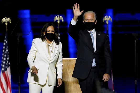 Ông Joe Biden phát biểu về chiến thắng: Đã đến lúc hàn gắn nước Mỹ - Ảnh 4.