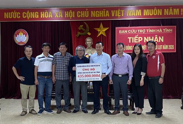 435 triệu đồng hỗ trợ đồng bào vùng lũ Hà Tĩnh - Ảnh 1.