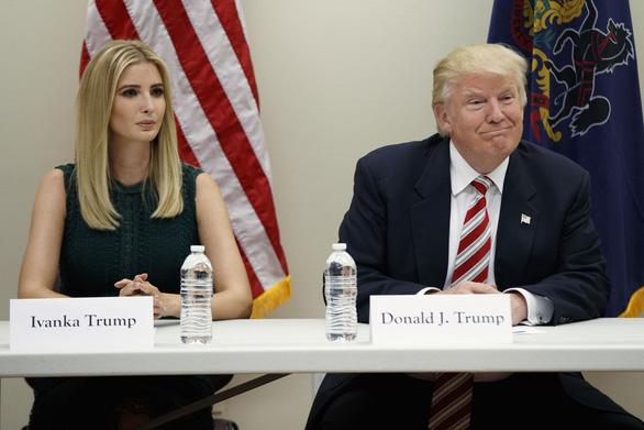 Nghỉ việc không lương ở Nhà Trắng, Ivanka Trump sẽ làm gì? - Ảnh 1.