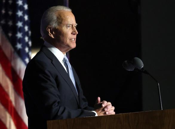 Ông Joe Biden phát biểu về chiến thắng: Đã đến lúc hàn gắn nước Mỹ - Ảnh 2.