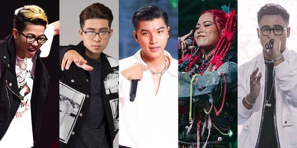 5 gương mặt rap nổi bật của King of Rap và Rap Việt - Ảnh 1.