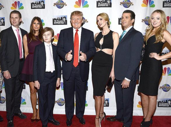 Con cái ông Trump sẽ tranh cử kỳ 2024? - Ảnh 1.