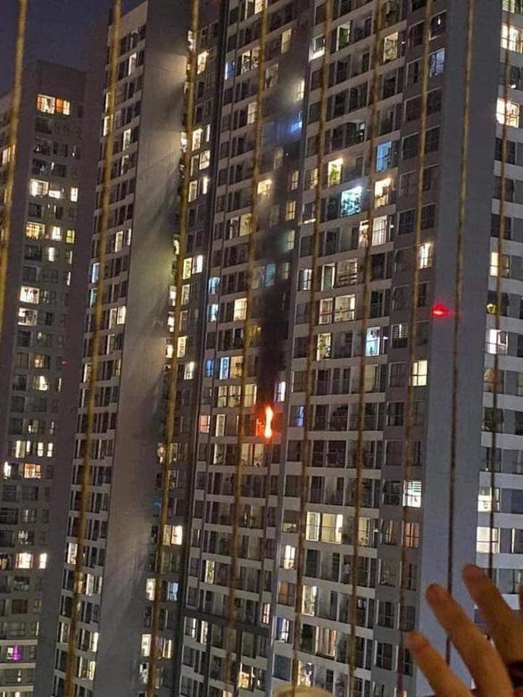 Cháy ở chung cư cao cấp Park Hill, nghi do cục nóng máy điều hòa - Ảnh 3.