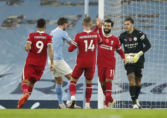 De Bruyne đá hỏng penalty, Man City bị Liverpool cầm chân - Ảnh 1.