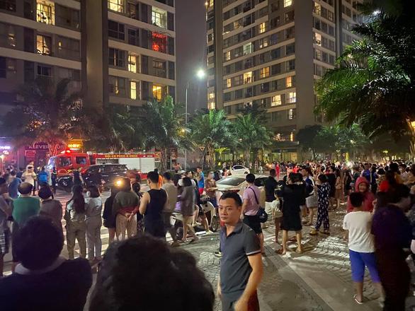 Cháy ở chung cư cao cấp Park Hill, nghi do cục nóng máy điều hòa - Ảnh 4.