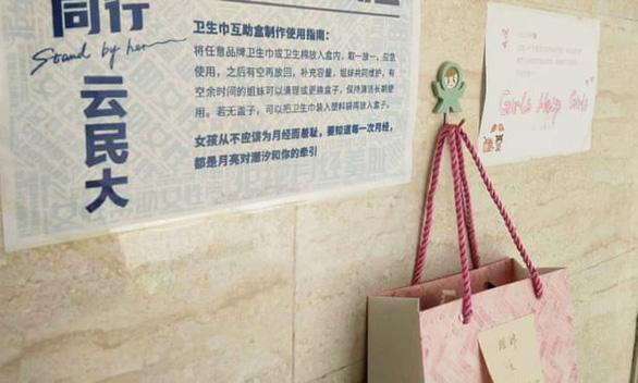 Giới trẻ Trung Quốc và Hộp rút băng vệ sinh miễn phí - Ảnh 1.