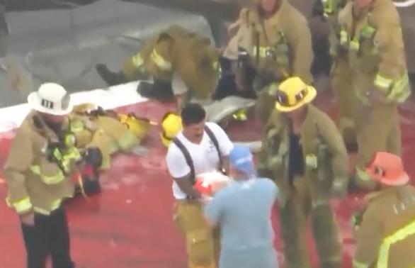 Cứu thành công quả tim hiến tặng trong vụ rơi trực thăng ở bệnh viện Mỹ - Ảnh 1.
