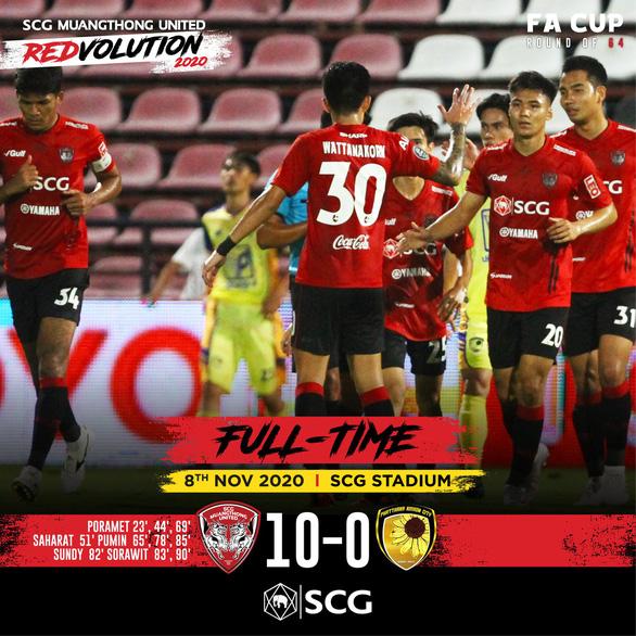 Dùng đội hình dự bị không có Văn Lâm, Muangthong United vẫn thắng... 10-0 - Ảnh 1.
