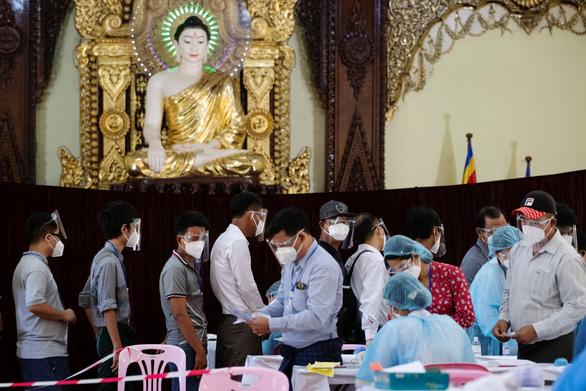 Tổng tuyển cử ở Myanmar: Đất nước phải là người thắng cuộc - Ảnh 1.