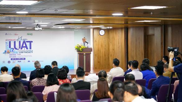 Trường Đại học Hoa Sen ra mắt Khoa Luật - Ảnh 2.