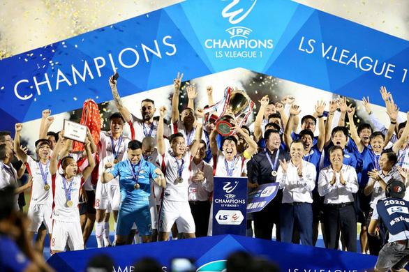CLB Viettel được thưởng 9 tỉ đồng sau chức vô địch V-League 2020 - Ảnh 1.