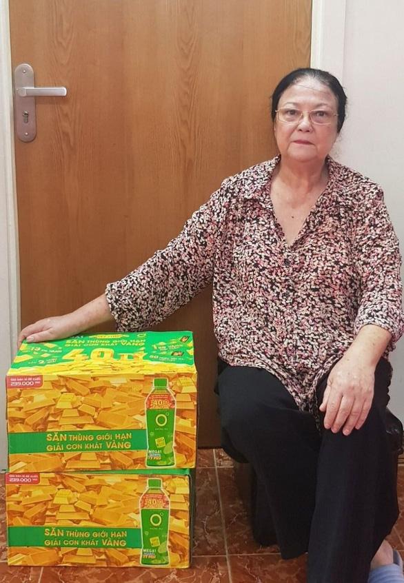 Khách hàng trúng 1kg vàng từ Mega1: Sẽ trích một phần may mắn cho bà con miền Trung - Ảnh 2.