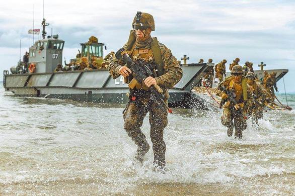 Mỹ đưa thủy quân lục chiến tinh nhuệ tới Đài Loan - Ảnh 1.