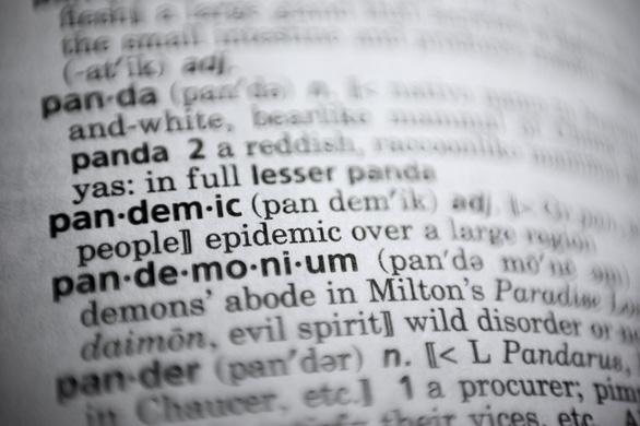 Từ điển Merriam-Webster chọn 'đại dịch' là từ của năm 2020 - Ảnh 1.