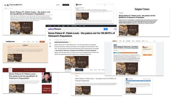 Những lời khen của báo chí nước ngoài dành cho D. Palais Louis - Ảnh 1.