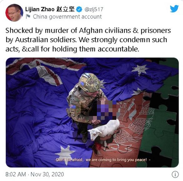 New Zealand quan ngại việc Trung Quốc đăng ảnh lính Úc sát hại bé gái Afghanistan - Ảnh 1.