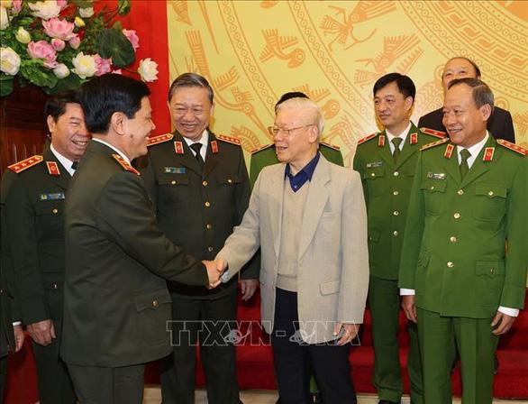 Tổng bí thư, Chủ tịch nước Nguyễn Phú Trọng: Xây dựng người công an trong sạch, lành mạnh - Ảnh 1.