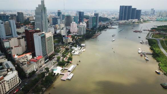 TP.HCM tổ chức tàu du lịch, ẩm thực trên sông khu bến Bạch Đằng dịp tết - Ảnh 1.