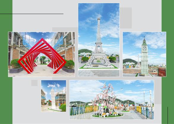 Sắp cất nóc nhà phố Ha Tien Centroria - Ảnh 3.