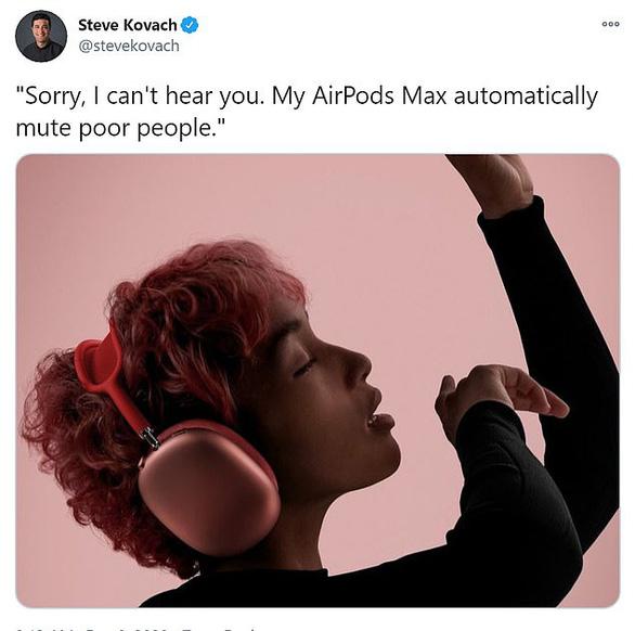 Airpods Max giá chát 14 triệu, dân mạng chế ảnh chê tơi bời - Ảnh 4.