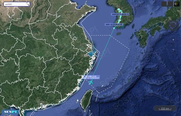 Mỹ đưa máy bay qua 'vùng nhận diện phòng không' do Trung Quốc tự công nhận - Ảnh 1.