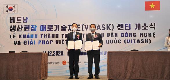 Hàn Quốc hỗ trợ vốn ODA mở trung tâm tư vấn kỹ thuật cho doanh nghiệp - Ảnh 1.