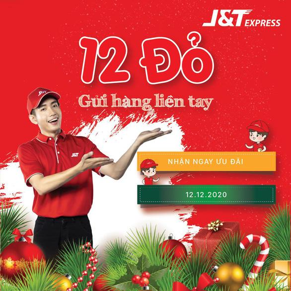 12-12 J&T Express hoàn tiền cực khủng - Ảnh 1.